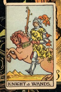 Read more about the article Knight of Wands: Detailed Meanings For Every Situation