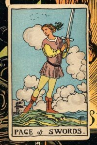 Read more about the article Page of Swords: Detailed Meanings For Every Situation