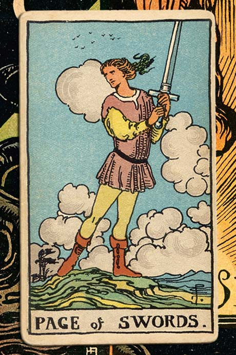 Main cover image Page of Swords
