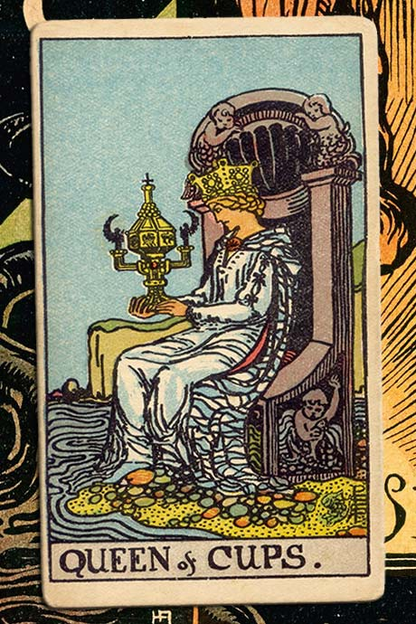 Main cover image Queen of cups