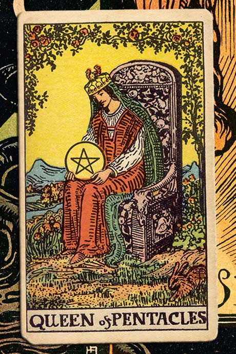 Main cover image Queen of Pentacles