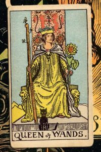 Read more about the article Queen of Wands: Detailed Meanings For Every Situation