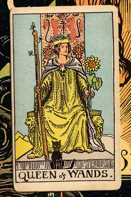 Main cover image Queen of Wands