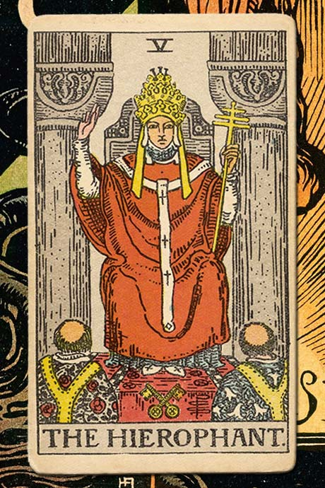 Main cover image The Hierophant