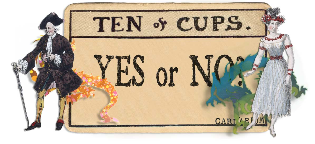 10 of cups card yes or no main