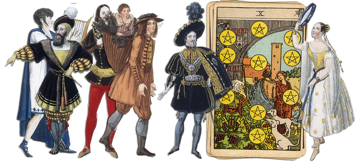 10 of pentacles meaning for job and career