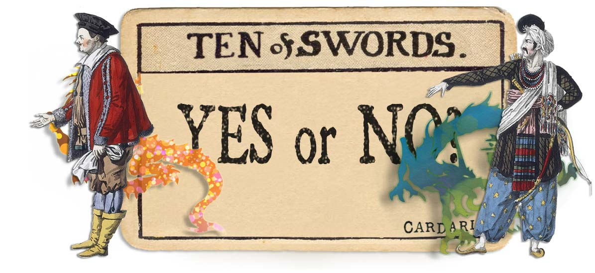 10 of swords card yes or no main