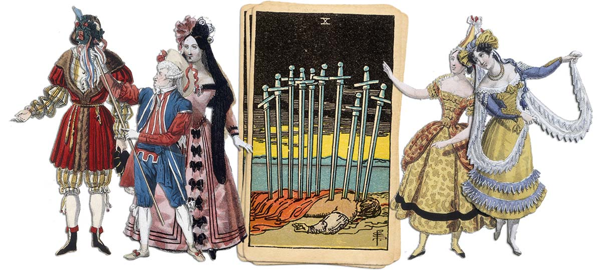 10 of swords meaning for job and career