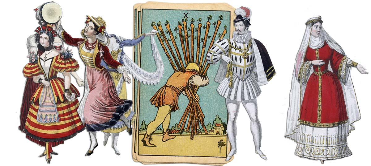10 of wands meaning for job and career