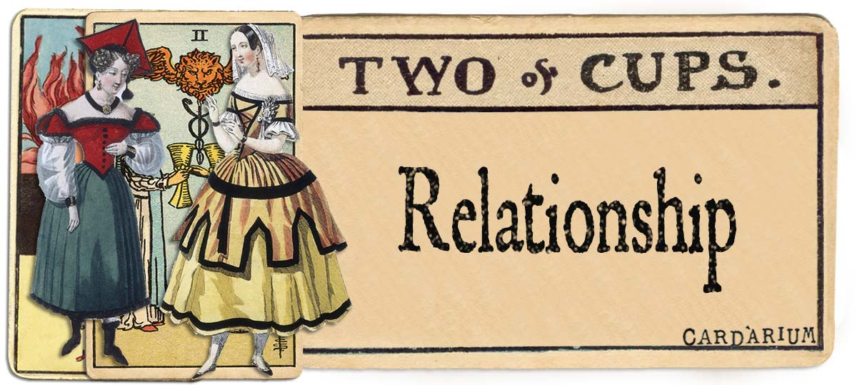 2 of cups meaning for relationship