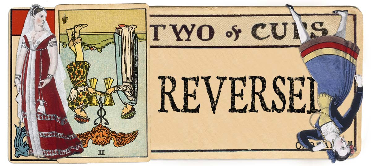 2 of cups reversed main meaning