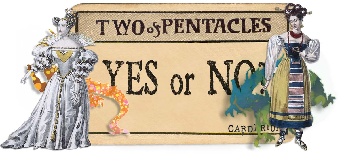 2 of pentacles card yes or no main