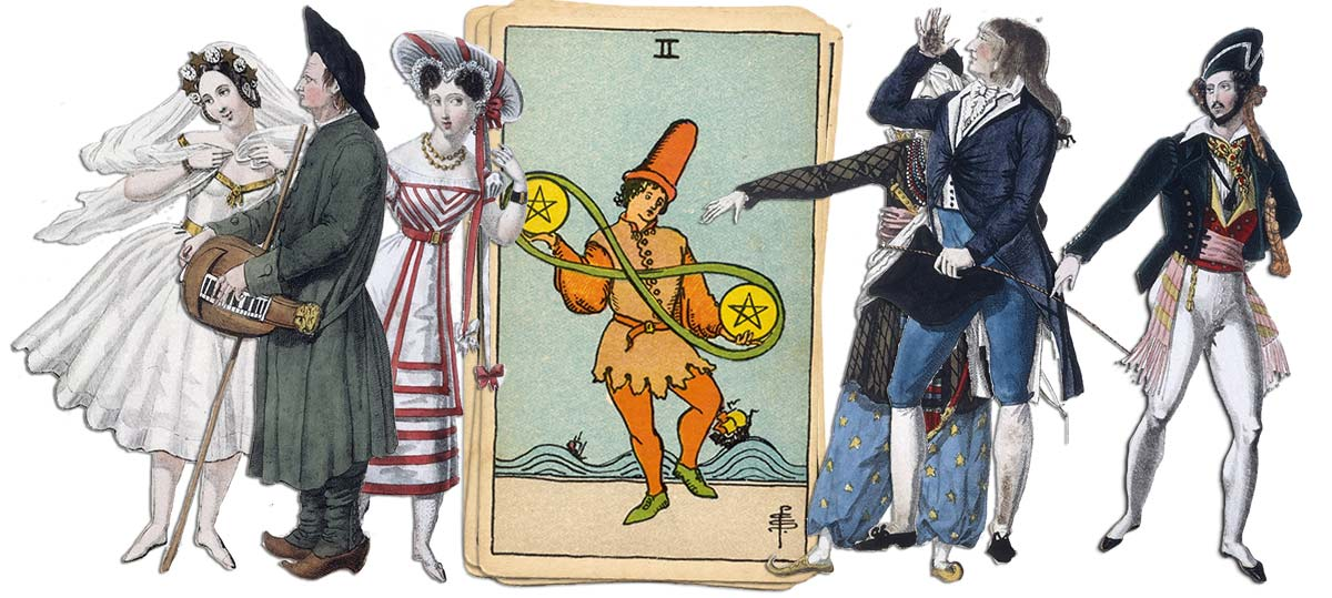 2 of pentacles meaning for job and career