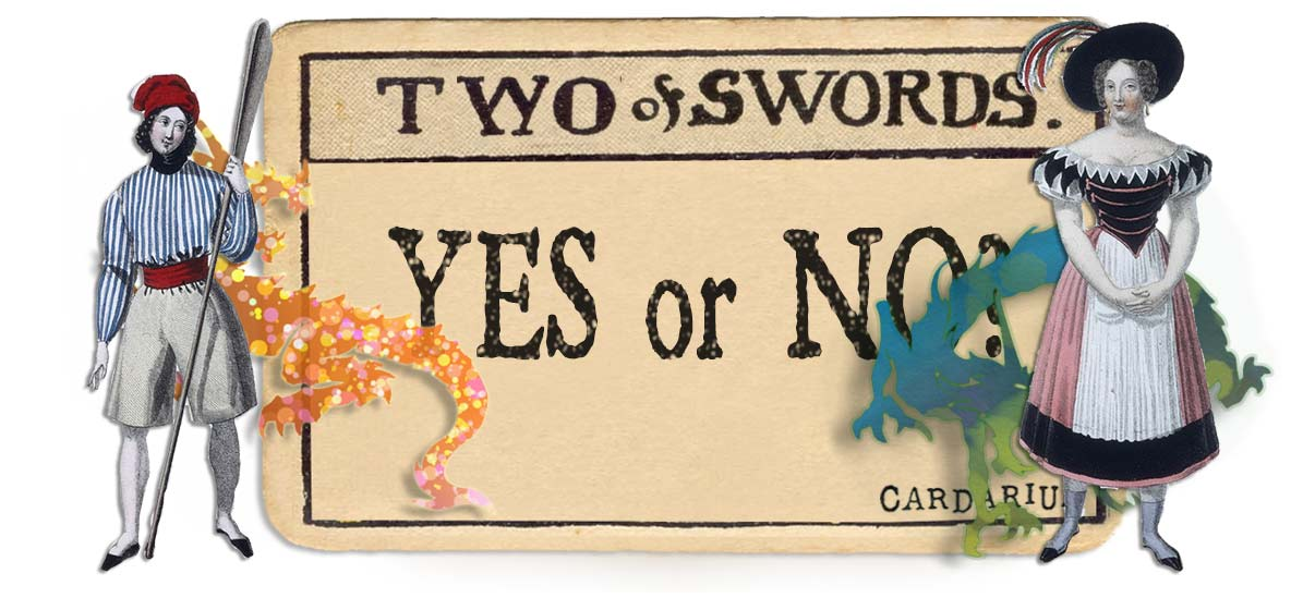 2 of swords card yes or no main
