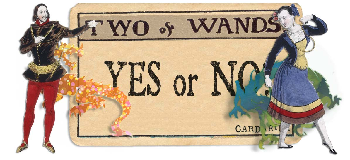 2 of wands card yes or no main