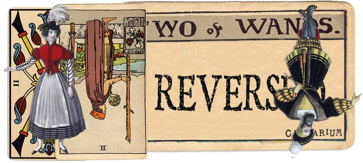 2 of wands reversed main meaning