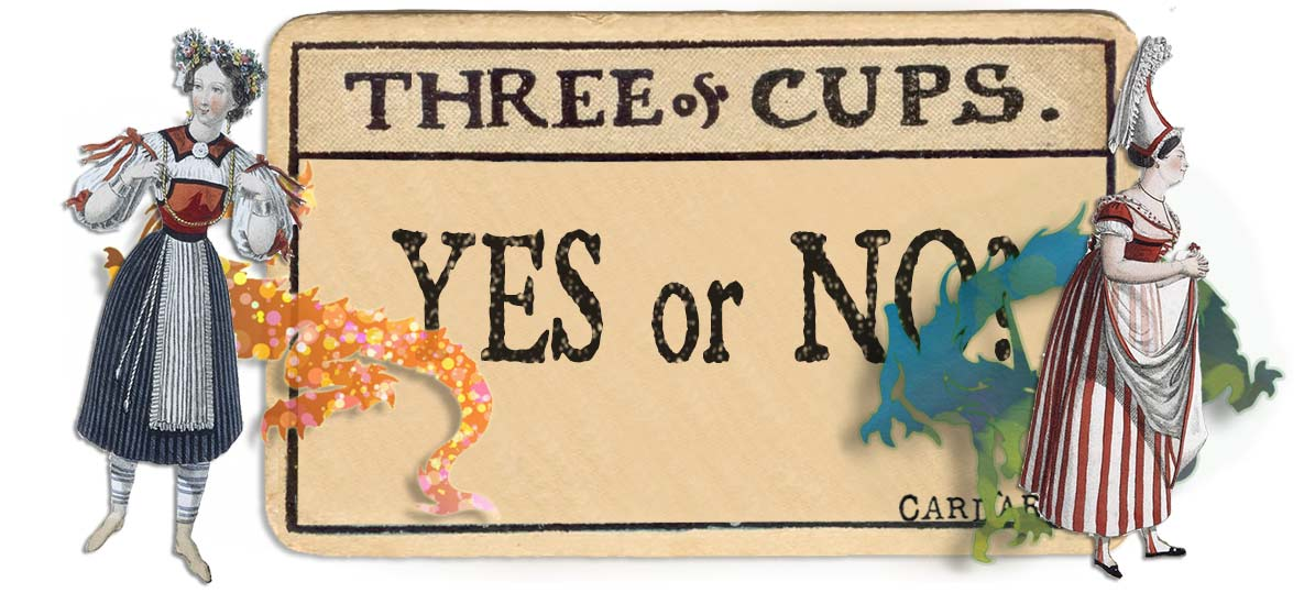 3 of cups card yes or no main