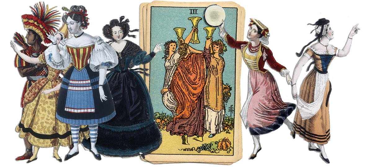 3 of cups meaning for job and career