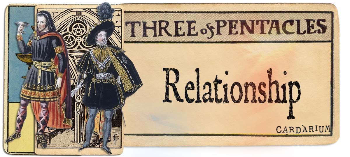 3 of pentacles meaning for relationship