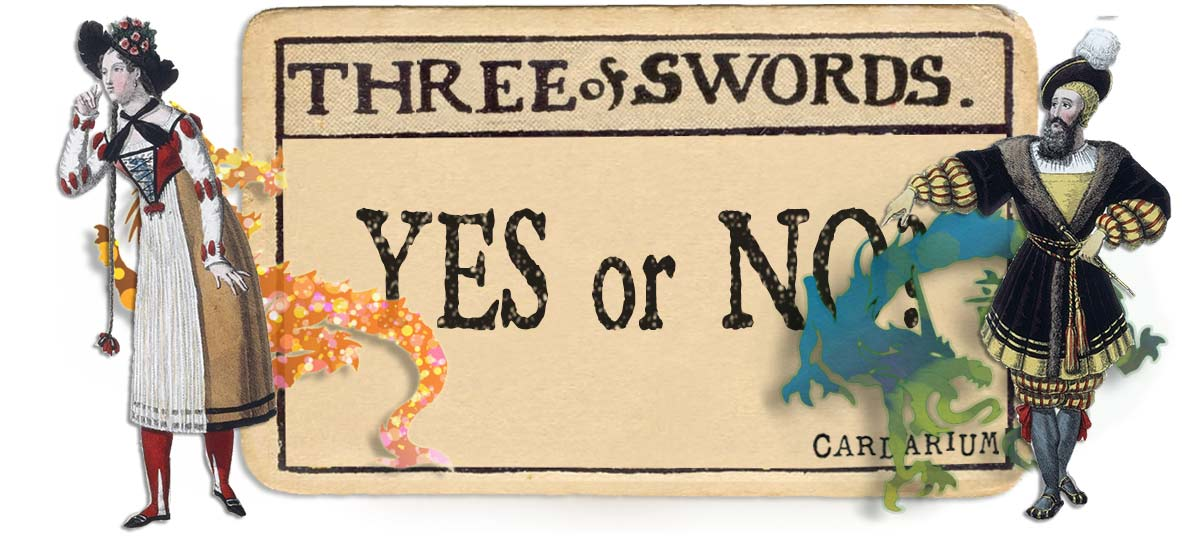 3 of swords card yes or no main