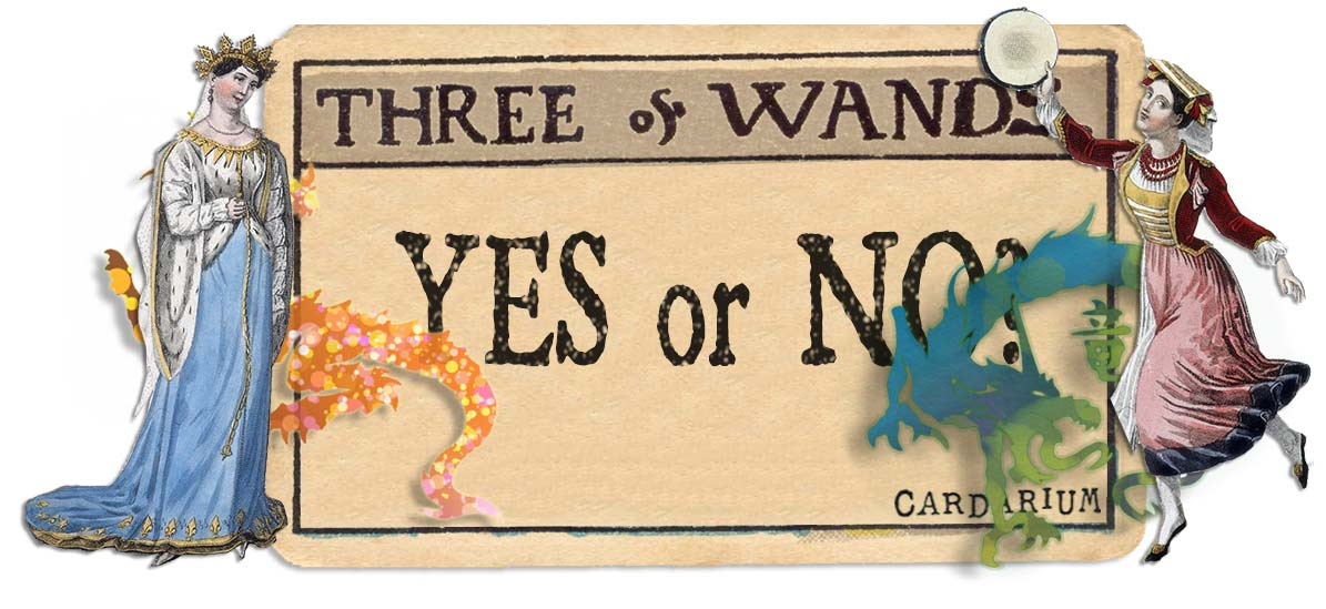 3 of wands card yes or no main