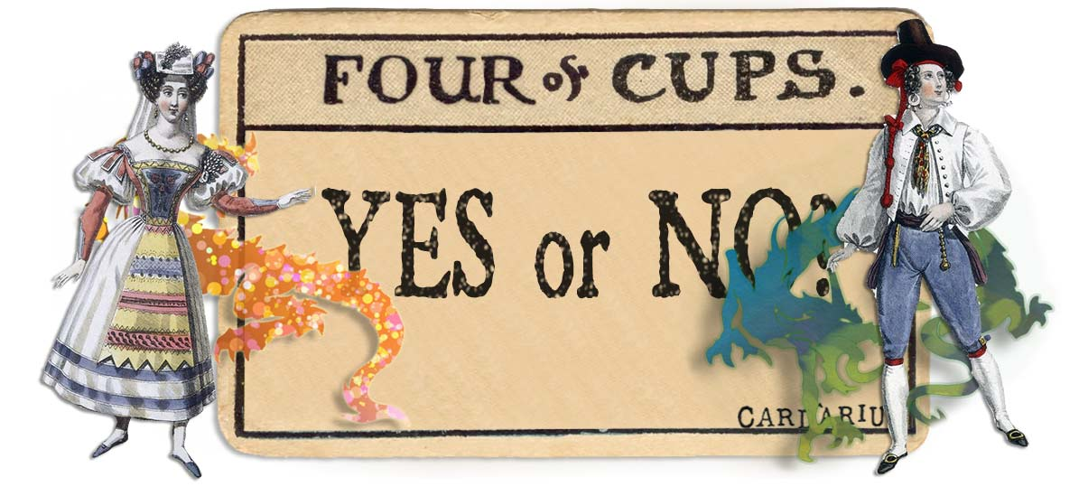 4 of cups card yes or no main