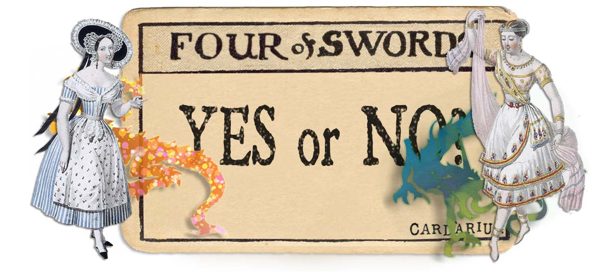 4 of swords card yes or no main