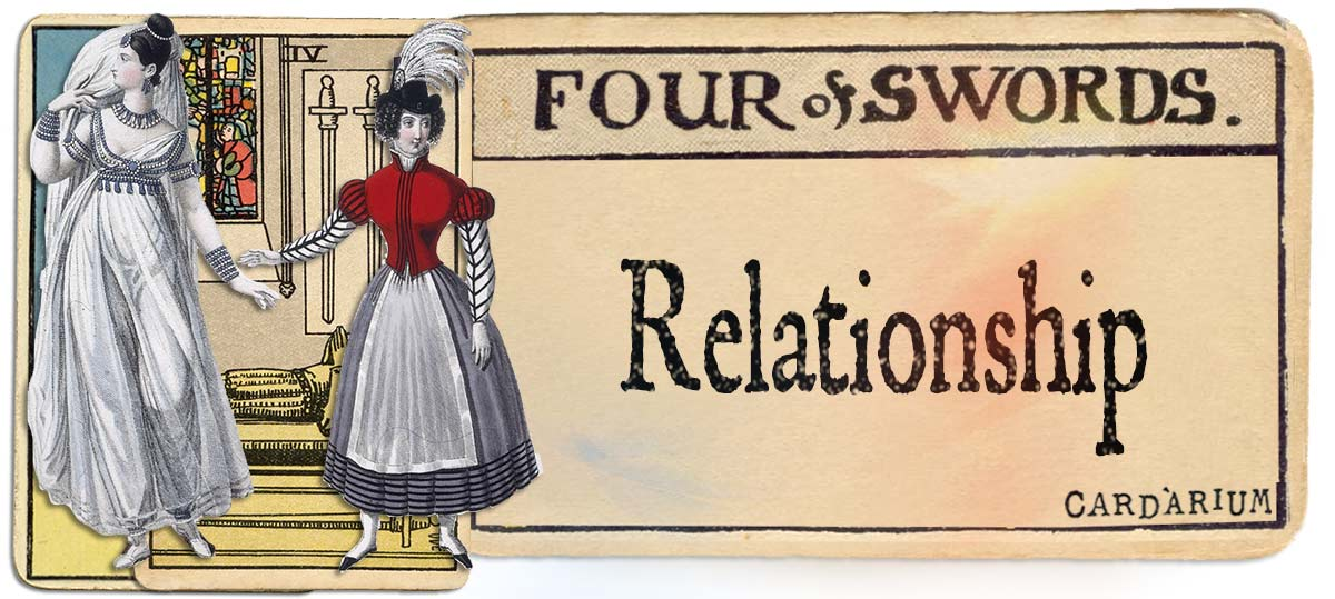 4 of swords meaning for relationship