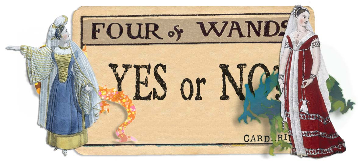 4 of wands card yes or no main