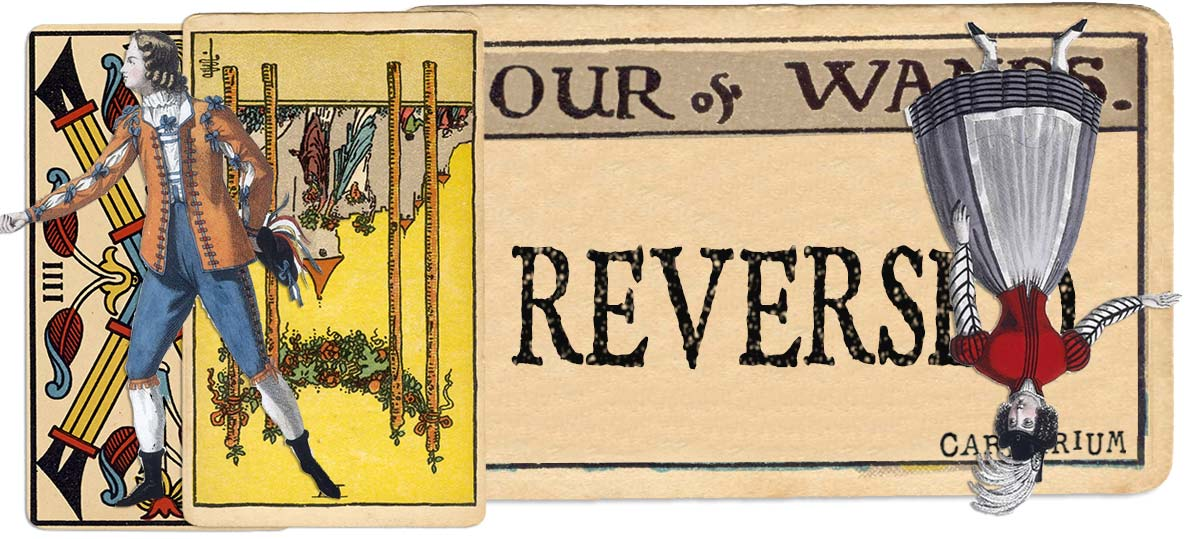 4 of wands reversed main meaning