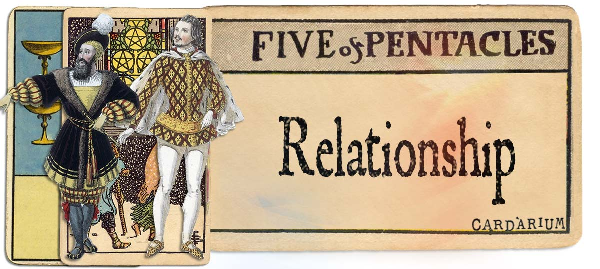 5 of pentacles meaning for relationship