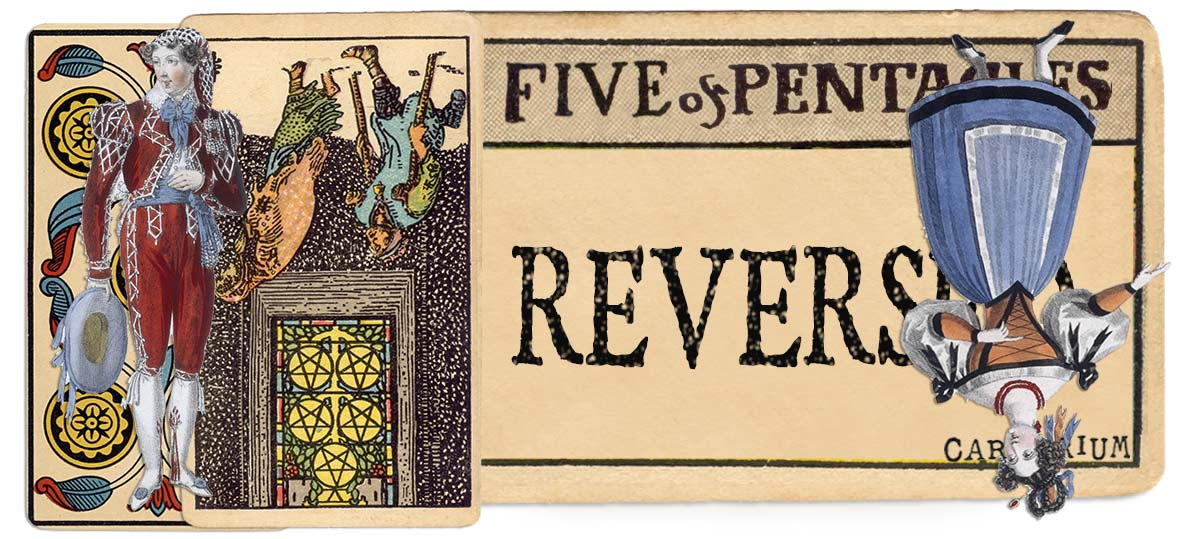5 of pentacles reversed main meaning