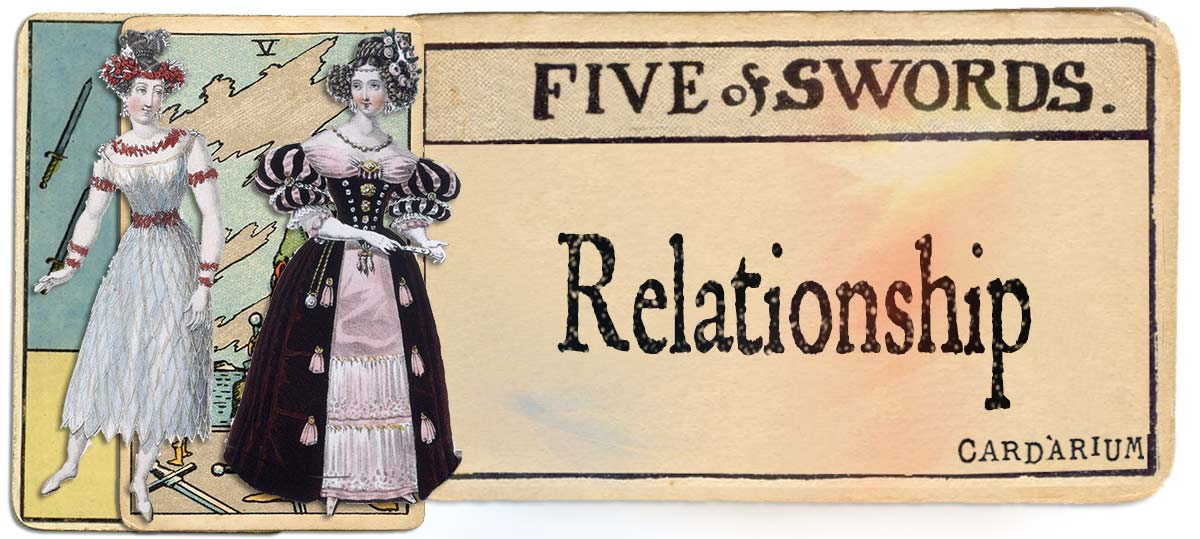 5 of swords meaning for relationship