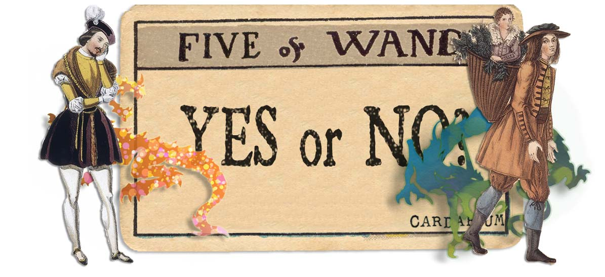 5 of wands card yes or no main