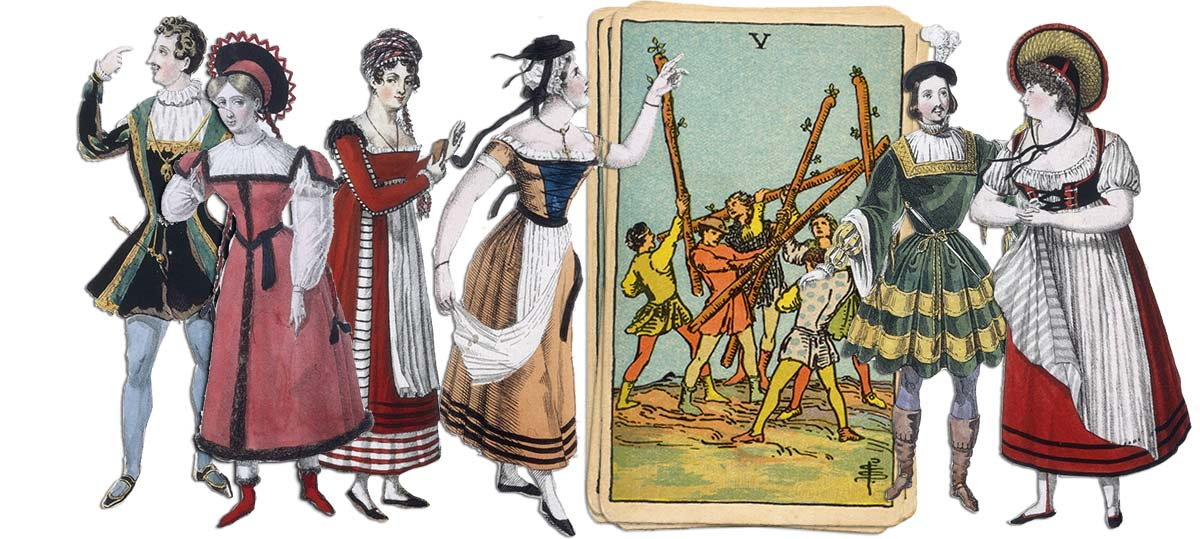 5 of wands meaning for job and career