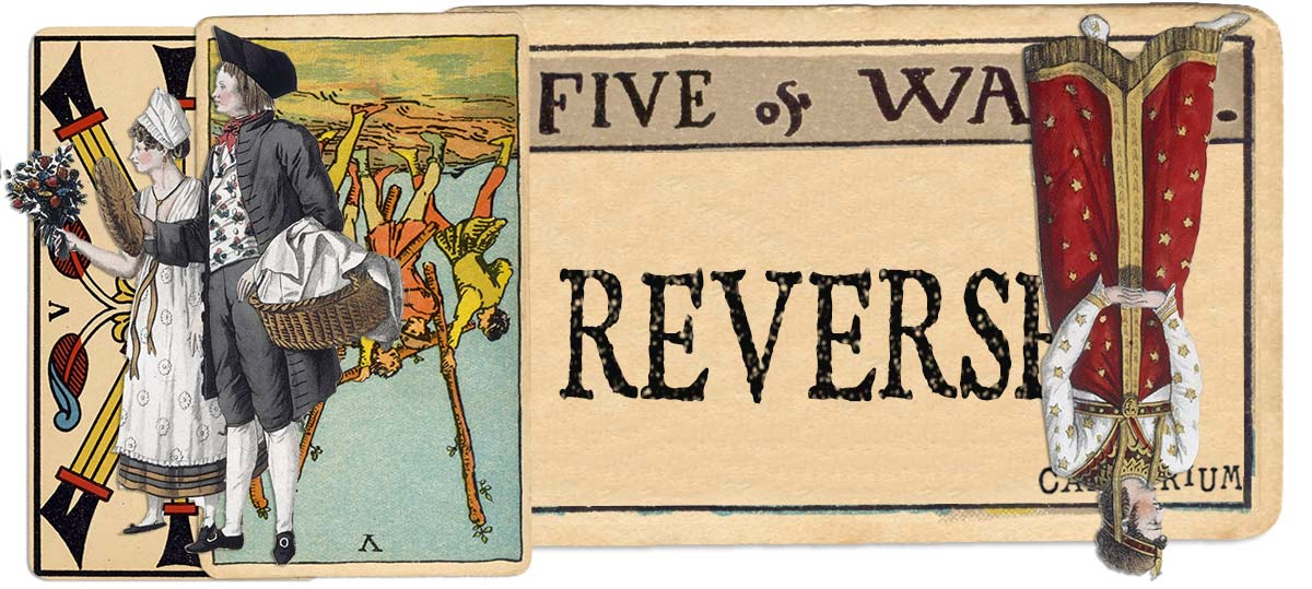 5 of wands reversed main meaning
