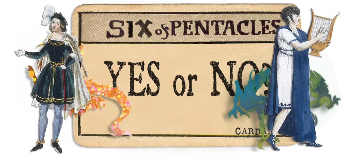 6 of pentacles card yes or no main
