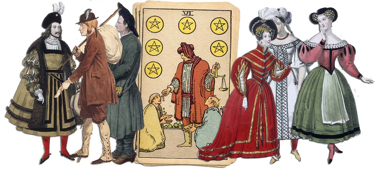 6 of pentacles meaning for job and career