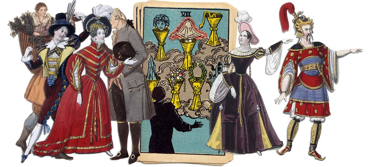 7 of cups meaning for job and career