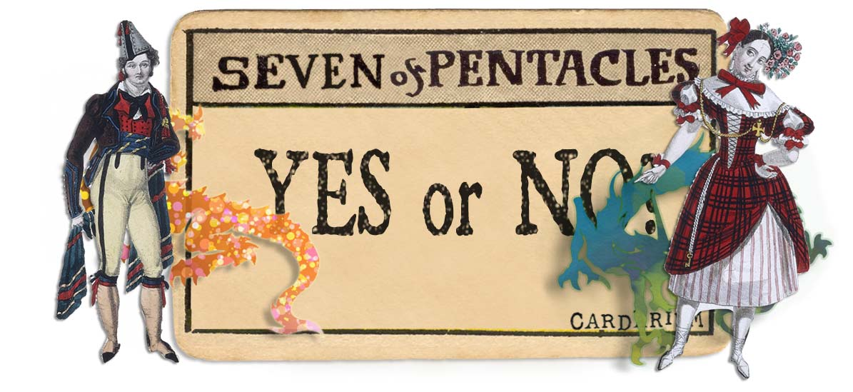 7 of pentacles card yes or no main