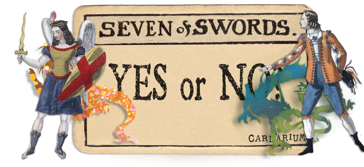 7 of swords card yes or no main