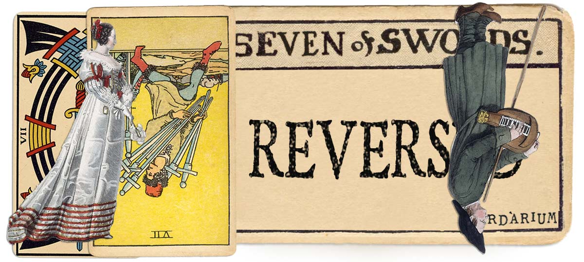 7 of swords reversed main meaning