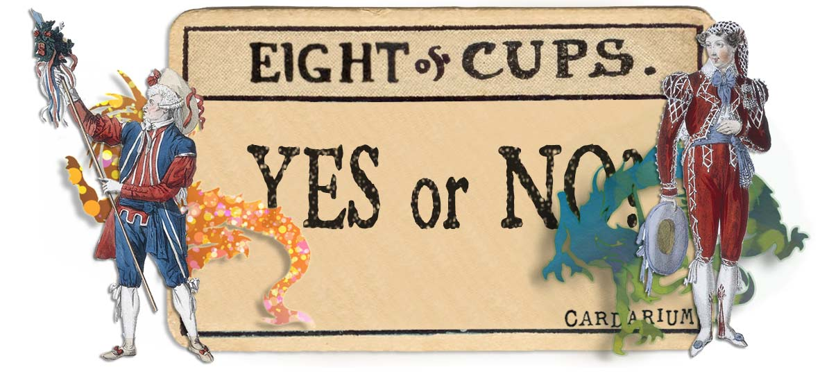 8 of cups card yes or no main