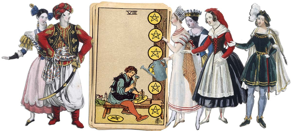 8 of pentacles meaning for job and career