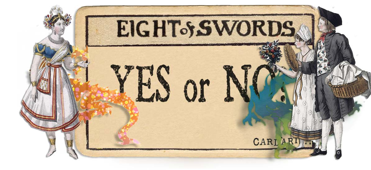 8 of swords card yes or no main