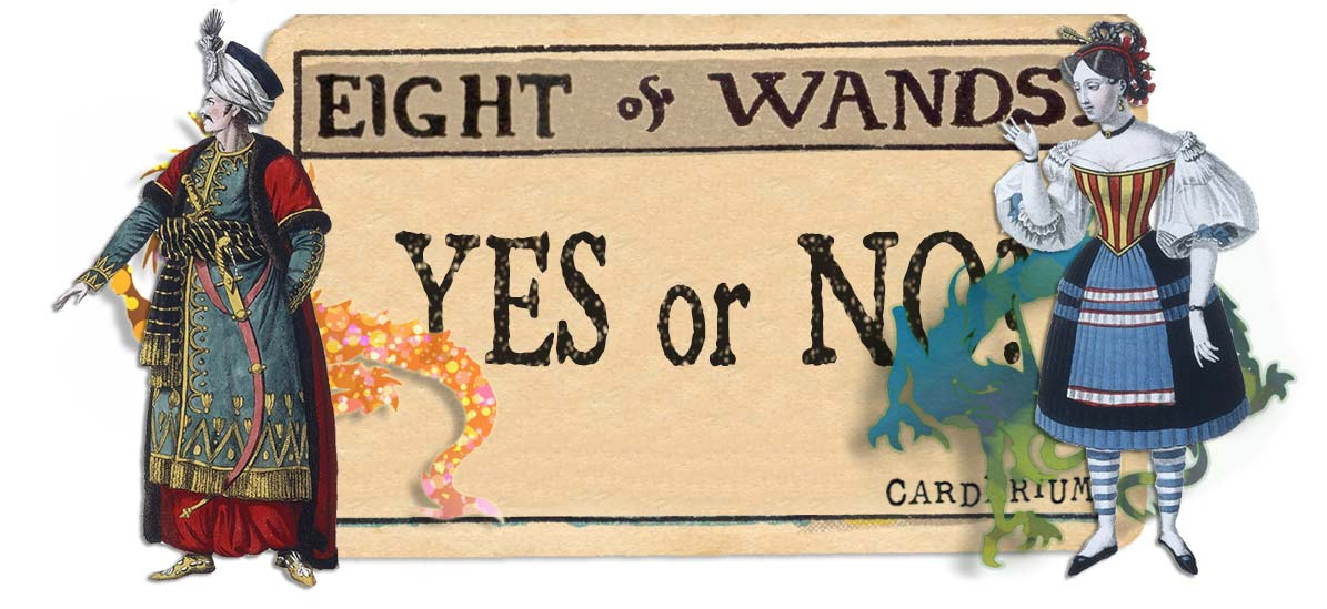 8 of wands card yes or no main