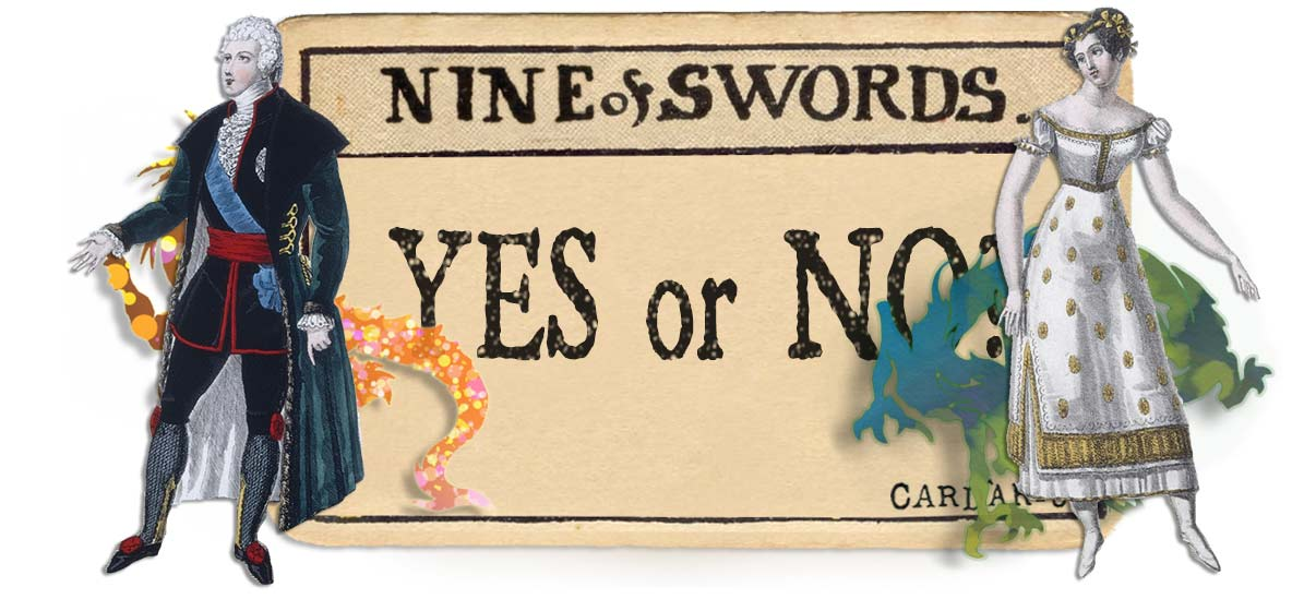 9 of swords card yes or no main