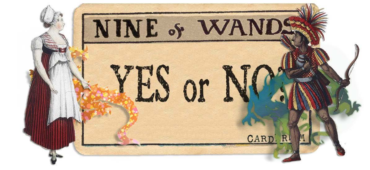 9 of wands card yes or no main
