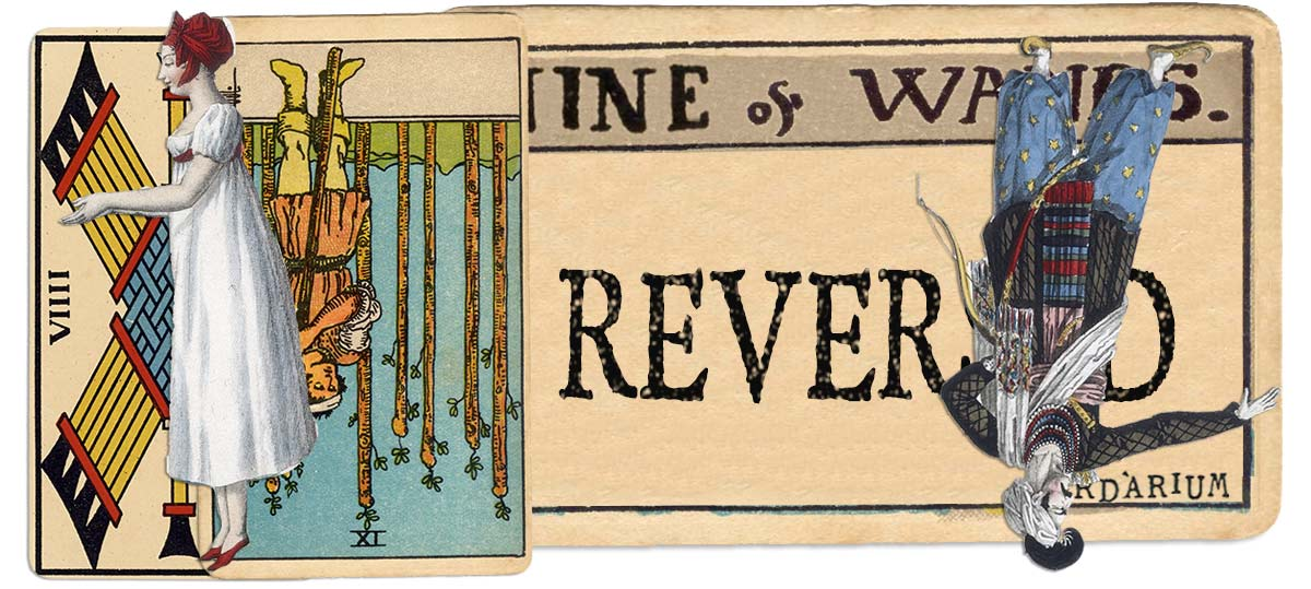 9 of wands reversed main meaning