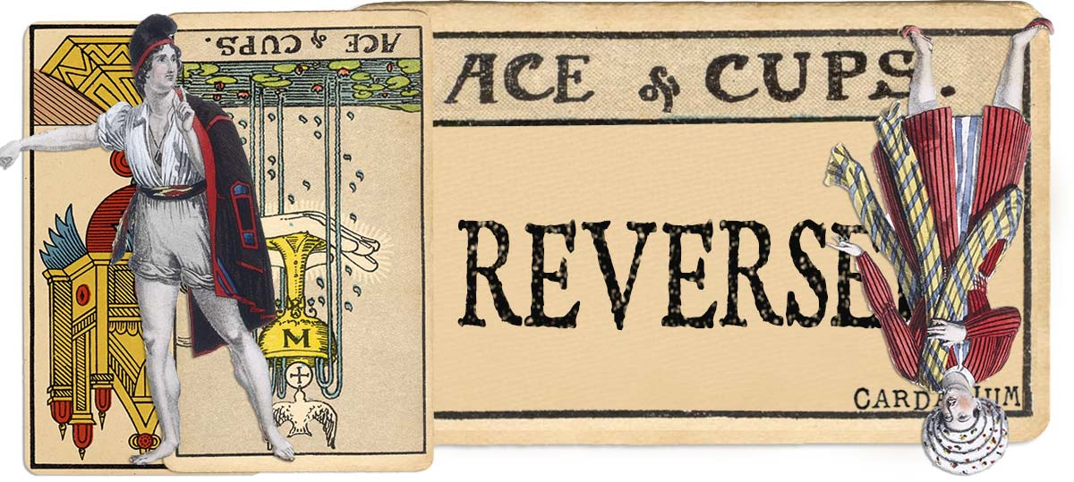 Ace of cups reversed main meaning